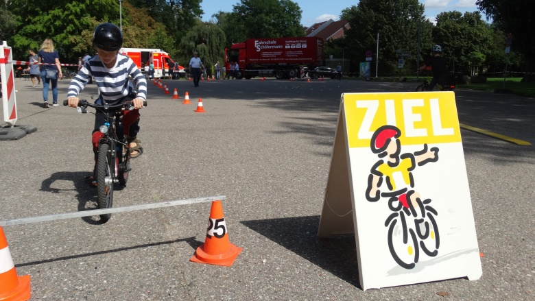 Fahrrad-Sicherheitstraining in Bargteheide