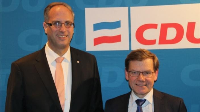 Foto: Tobias Koch MdL, Dr. Johann Wadephul MdB Quelle: CDU